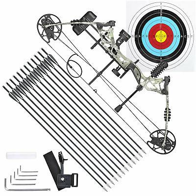 Pro Compound Right Hand Bow Kit w/ Arrow Adjustable 20 to 70
