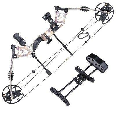 Pro Right Bow Kit Arrow Adjustable Archery Set Camo