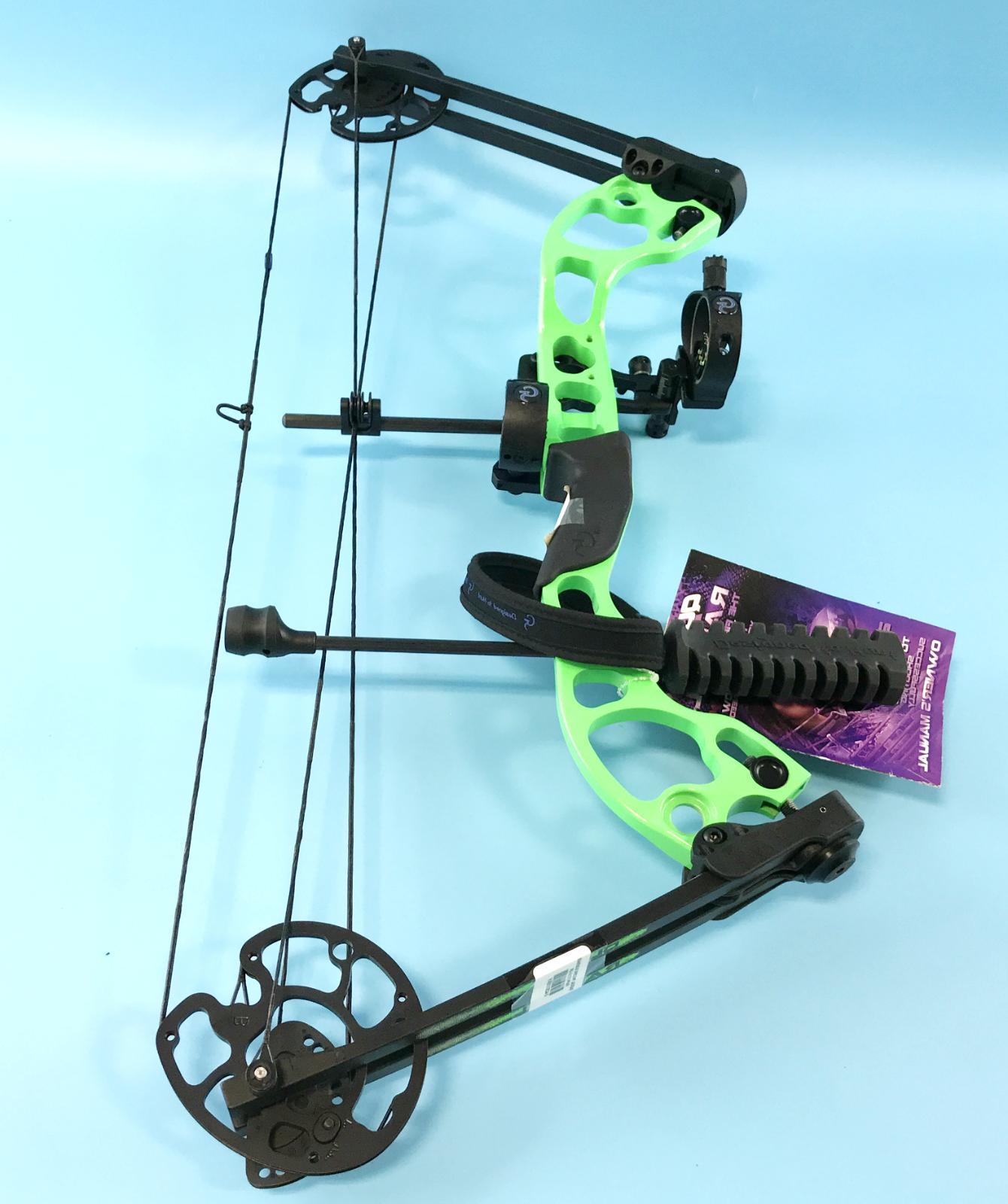 radical bow package green black 25 40