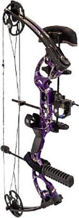 Quest Radical Right Hand Package, AP Purple, 17.5-30-Inch/40