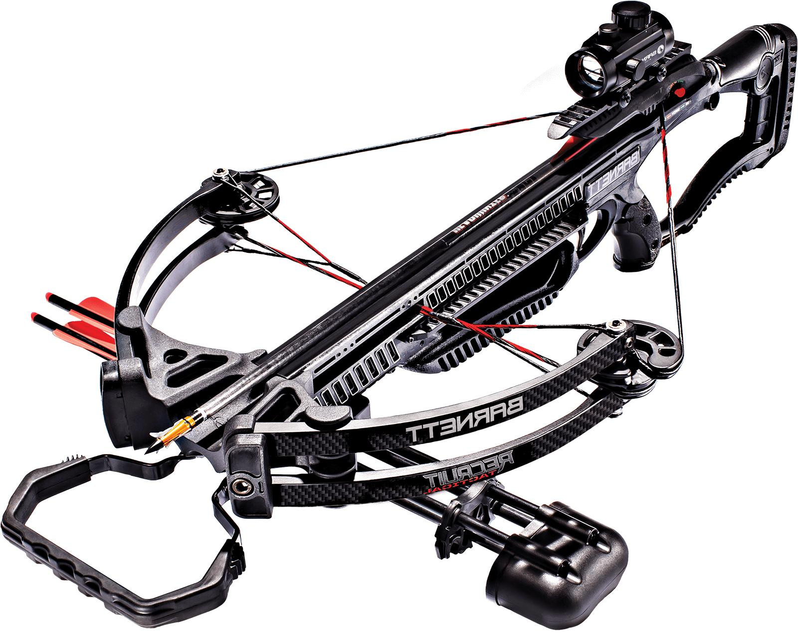 Barnett Crossbows Recruit Tactical Compound Crossbow Package
