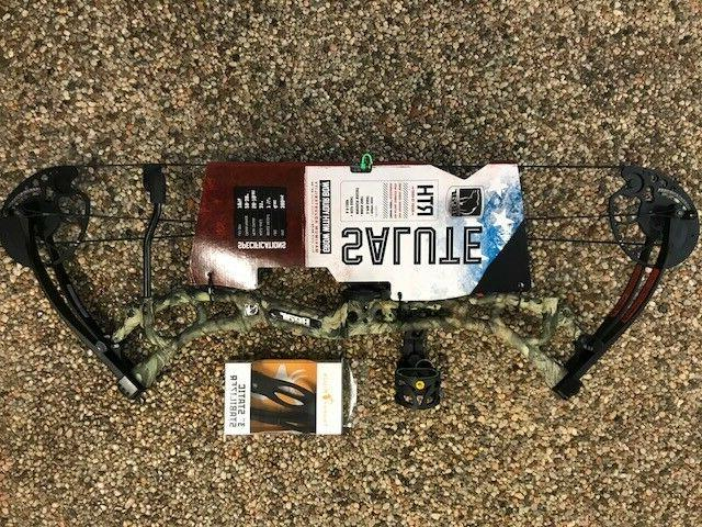 salute compound bow package 50 70 23