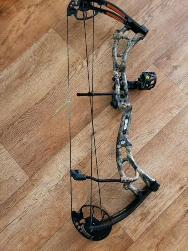 salute rth compound bow 300fps 20 30