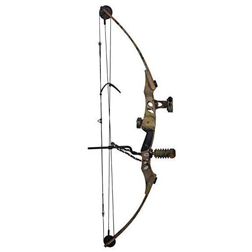 sas compound bow camo