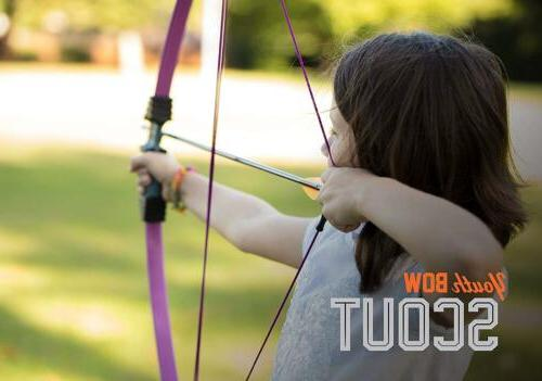 Bear Archery Youth Bow Purple