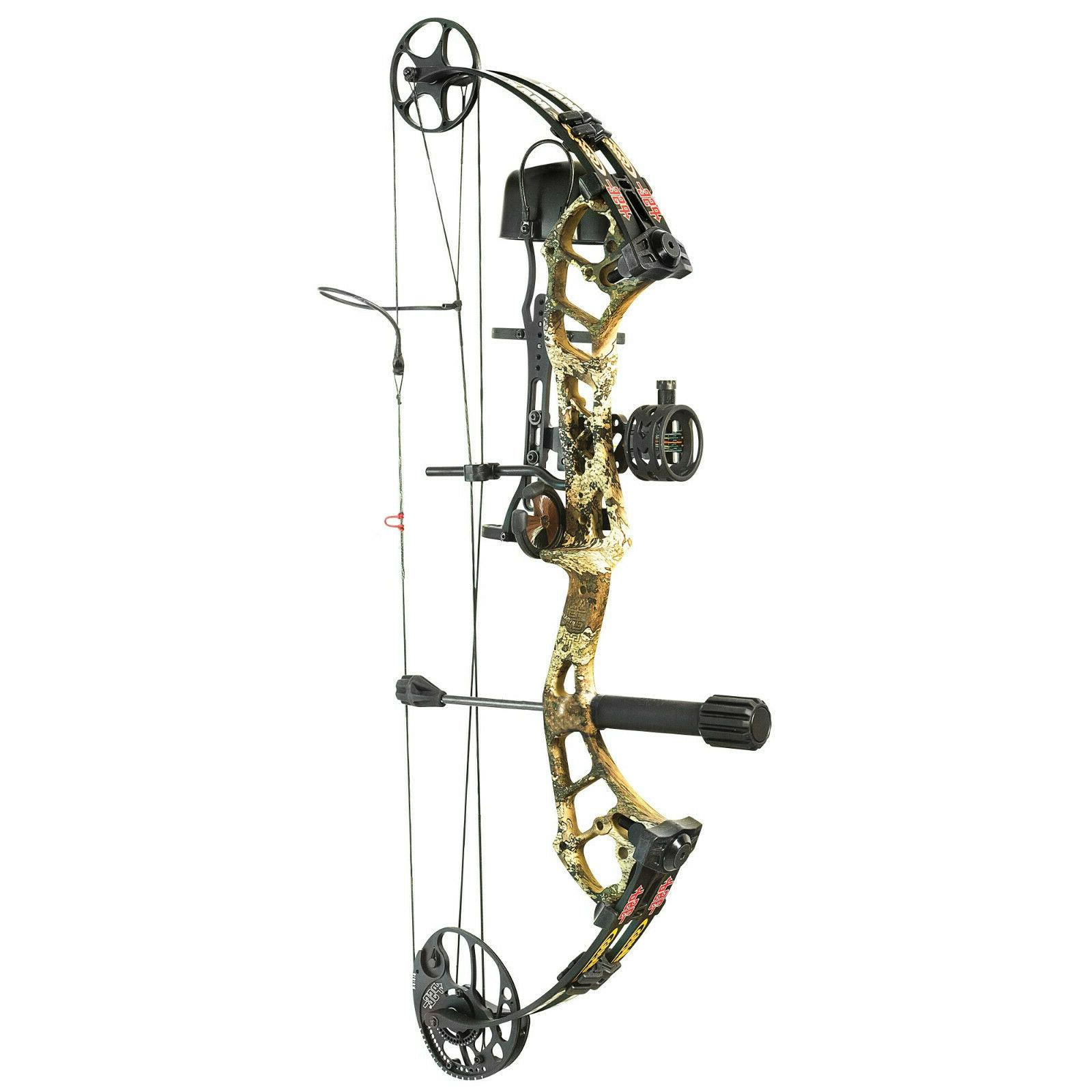 stinger max rts compound bow package left