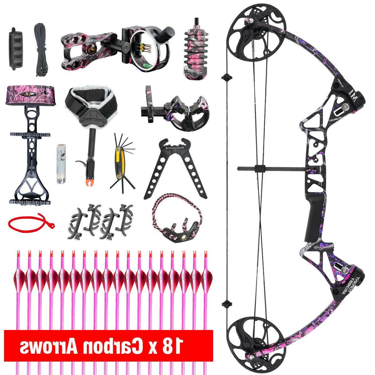 Topoint M1 Women Compound Kit Archery Pink