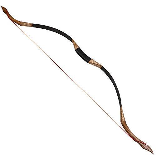 Toparchery Bow 53'' Archery Hunting Handmade Horse Longbow lbs