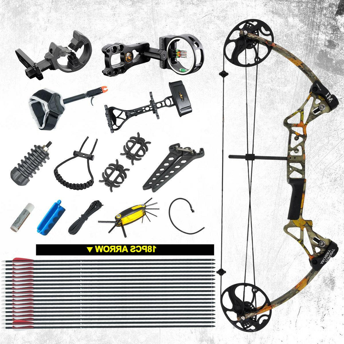 us camo compound bows full package m1
