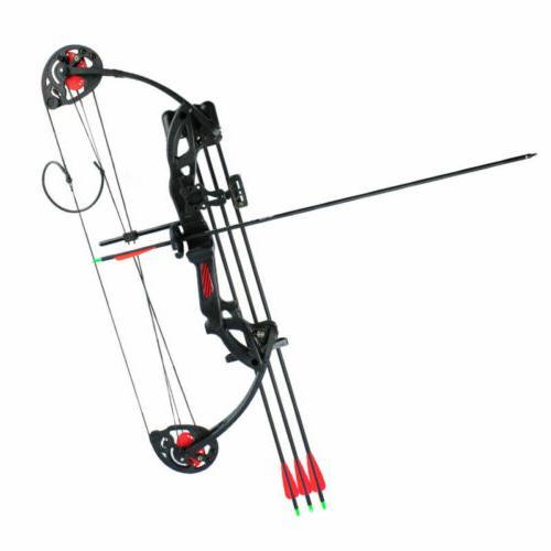 US Bow Sight w/ Arrows Black