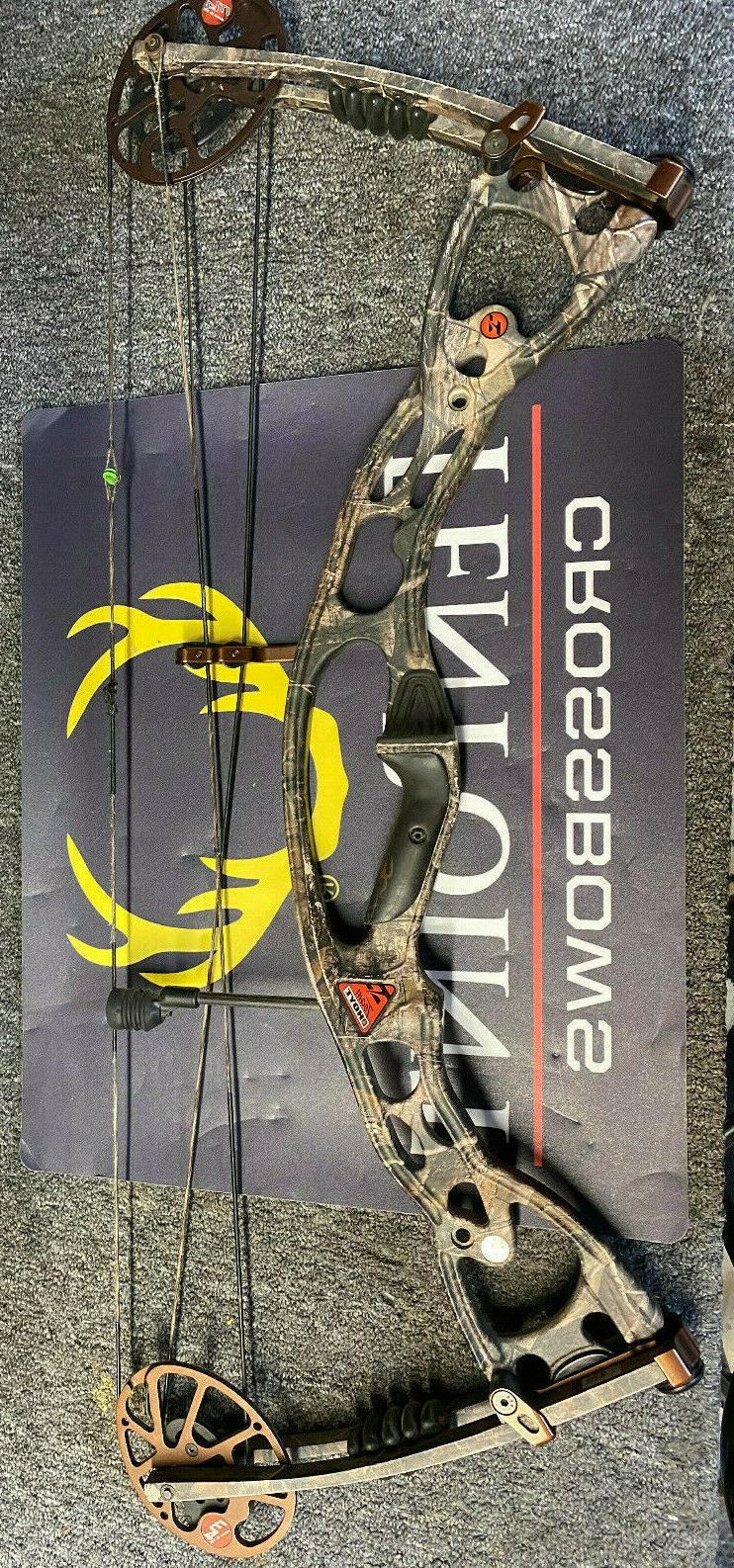 used rampage compound bow 60 70 realtree