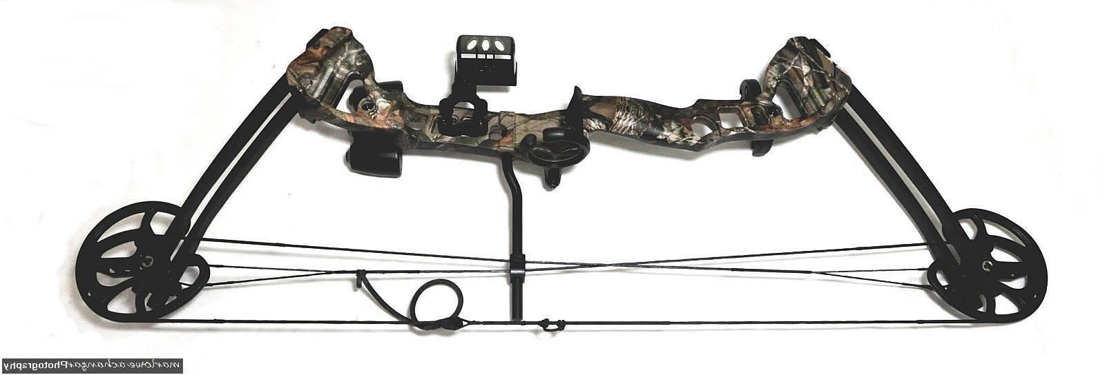 vortex compound bow by 45lbs black cam