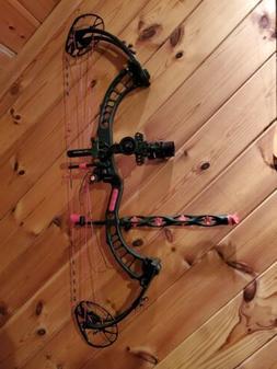 Lefthanded pse full throttle.  The bow is basically brand ne