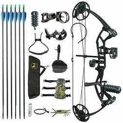 M2 Black Youth Children Compound Bow Set For Beginners Outdo