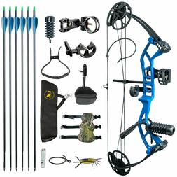 M2 Blue Youth Children Compound Bow Set 290fps IBO For Begin