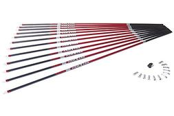 Eastman Maxima Red 350 Raw Unfletched Shafts 1 Dz