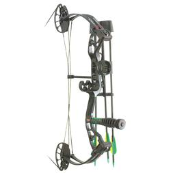 PSE Mini Burner Youth Compound Bow Kit  Right Handed