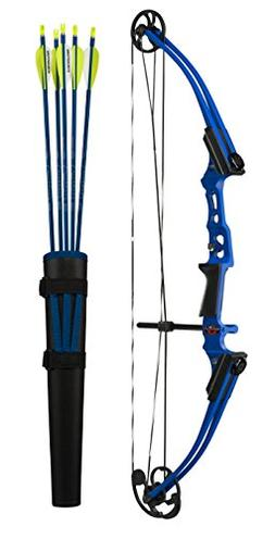 GENESIS MINI RIGHTHAND BOW KIT-BLUE