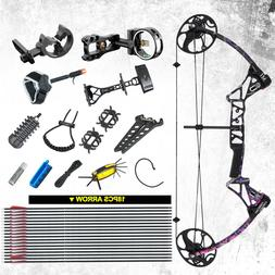 """Muddy Girl Compound Bow Package M1,19""""-30"""" Length,19-70L"""