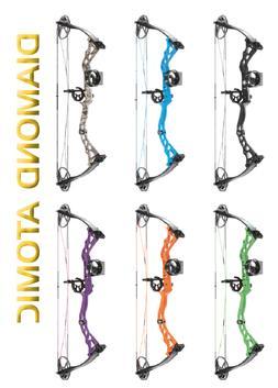 NEW Diamond Archery Atomic Youth Compound Bow RH CHOOSE COLO