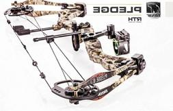 New Bear Archery Pledge RTH Camo Package RH Compound Bow 70#