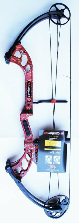New PSE Archery Stinger X 70# LH Compound Bow Red Skullworks