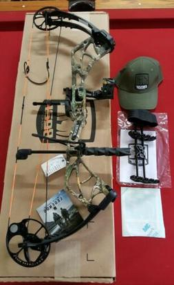 """NEW BEAR SPECIES REALTREE CAMO BOW RTH PACKAGE RH 23-30"""" 55-"""