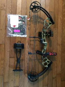 NEW PSE BRUTE FORCE LITE PRO PKG RTS RTH RT HAND 70lbs Mossy