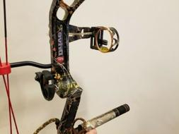 NEW custom PSE DRIVE R WILDFIRE 70#,  COMPOUND BOW with qad
