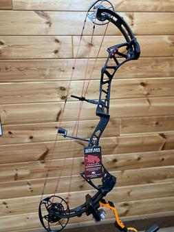 New PSE Evolve 35 Compound Bow 60# Right Hand BLACK