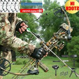 "New Topoint M1 Compound Bow 19-30""/19-70Lbs Right Hand Hunti"