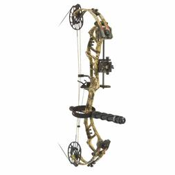 PSE Archery Bow Madness Unleashed RTS Pkg Right Hand 70# Mos