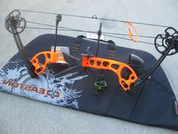 """NEW G5 Quest RADICAL Bow ORANGE PACKAGE RH 17 to 70# 17.5 """"/"""
