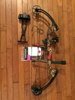 New PSE Stinger X RTS RTH PKG MOSSY OAK CAMO 70lbs Package B