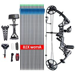"Compound Bow Package,M1,19""-30"" Draw Length,19-70Lbs Draw We"