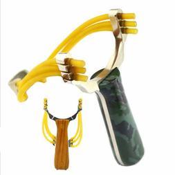 Professional Slingshot Sling shot Aluminium Alloy Slingshot