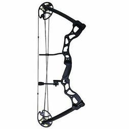 SAS Rage 70 lbs 30'' Compound Bow - Black 270 FPS