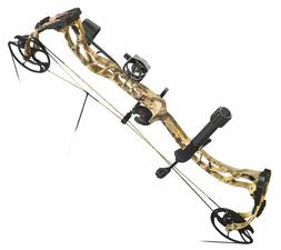 PSE RAMPED RTS Kryptek Highlander Compound Bow Package RH 29