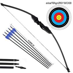 Dostyle Outdoor Recurve Bow and Arrow Set Archery Training T