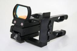 Red Dot Scope w/ Messer Optic Bow Sight Mount  Fits All