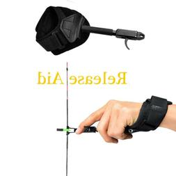 Release Aid with Trigger Wrist Strap for Adult Compound Bow