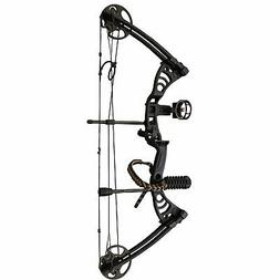 "SAS Scorpii 30-55 Lb 19-29"" Compound Bow Package with Bow St"