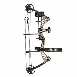 """SAS Scorpii 55 Lb 29"""" Compound Bow Pro Package with Quicksho"""