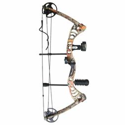 "SAS Scorpii 55 Lb 29"" Compound Bow Camo Starter Package"