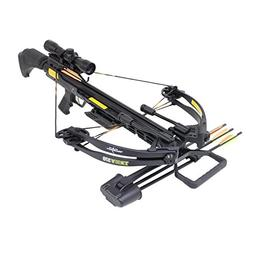 SAS Troy 370 Compound Crossbow 185 lbs 4x32 Scope Package -