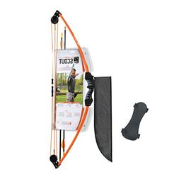 scout bow set orange
