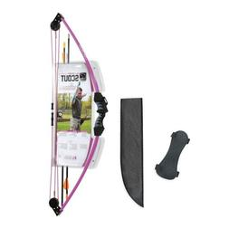 scout youth bow set purple new