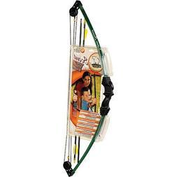 Bear Archery Scout Youth Archery Set | 2 Safety Glass Arrows