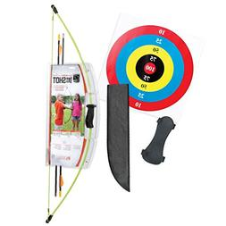 Bear Archery 1st Shot Youth Bow Set – Flo Green