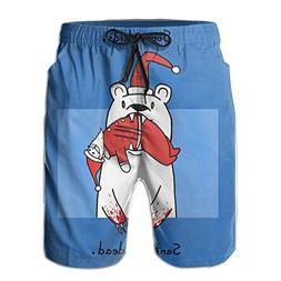 Sorry Kids Santa's Dead Ebullient Man Beach Volleyball Pants